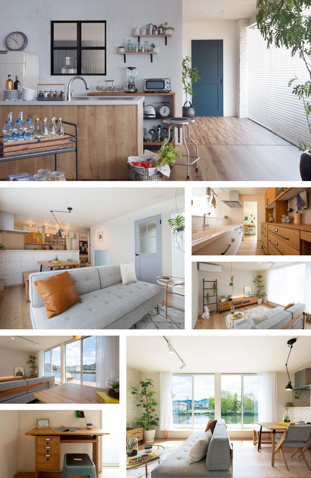 写真:Scandinavian-styleの室内イメージ